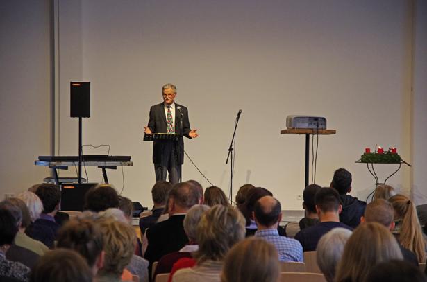 Prediger im großen Saal