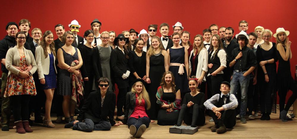 Gruppenbild von der Jugend im Forum Hoffnung